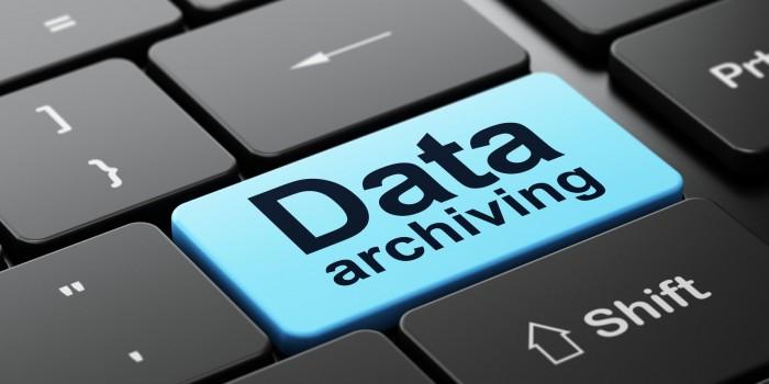 archivage numérique des données