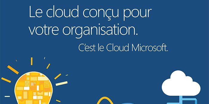 Infographie Cloud de Microsoft