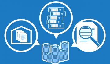 Infographie archivage des documents