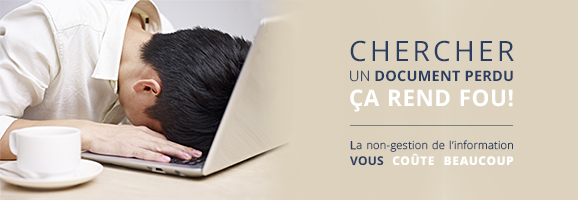 chercher un document perdu