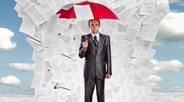 couts et risques de la conservation des archives