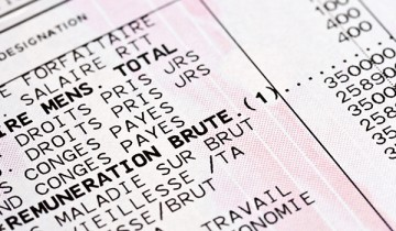 bulletin de paie papier