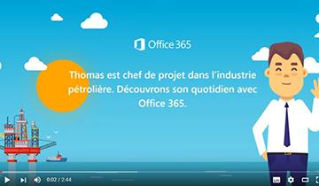 Une journée dans la peau d'un utilisateur d'Office 365