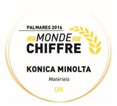 Konica Minolta 1er de la catégorie Matériels