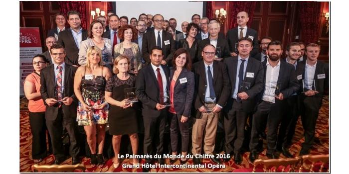 Palmarès Du Monde du Chiffres 2016