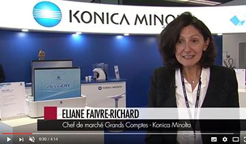 Konica Minolta présent aux JFR