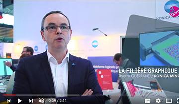 Interview Thierry Guerrand - Impression numérique et filière graphique salon CPrint