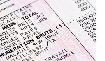 Bulletin de paie simplifié Konica Minolta