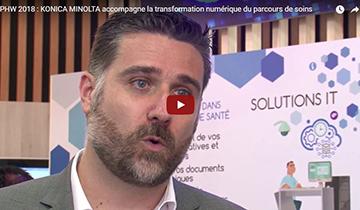 PHW 2018 : KONICA MINOLTA accompagne la transformation numérique du parcours de soins
