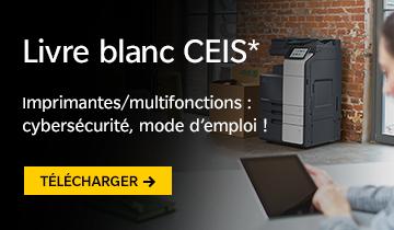 Livre Blanc CEIS* : Imprimantes/multifonctions : cybersécurité, mode d'emploi !