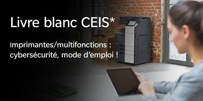 CEIS : Imprimantes/multifonctions : cybersécurité, mode d'emploi !