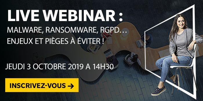 Malware, ransomware, RGPD… Enjeux et pièges à éviter !