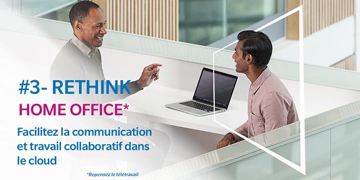 Facilitez la communication et travail collaboratif dans le cloud