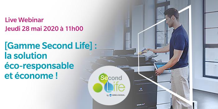 Gamme Second Life, la solution éco-responsable et économe !