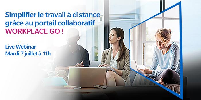 Simplifier le travail à distance grâce au portail collaboratif Workplace Go