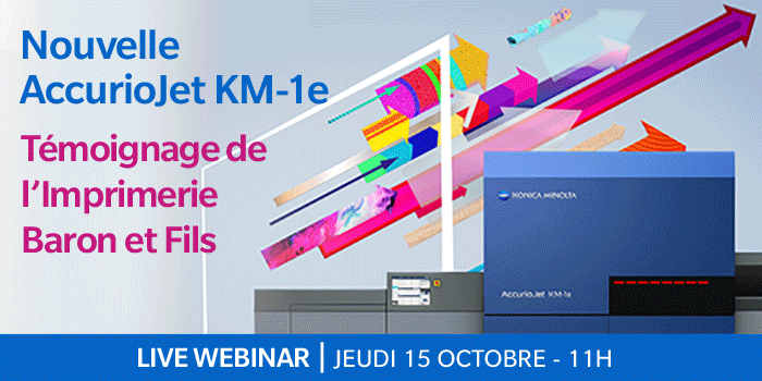 Comment l'Imprimerie Baron et Fils transforme et dynamise sa production avec la nouvelle AccurioJet KM-1e ?