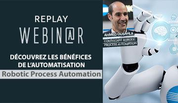 Automatisez vos tâches répétitives avec la RPA !