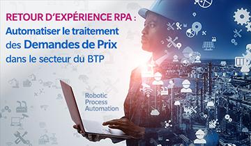 Retour d'expérience RPA : automatiser le traitement des demandes de prix