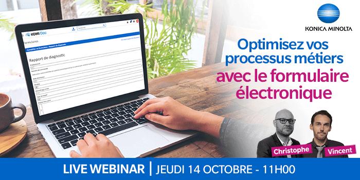 Optimisez vos processus métiers avec le formulaire électronique !